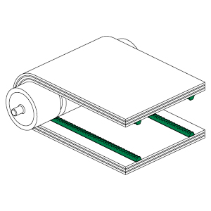 Guide in PVC-PU