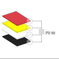 Lastre PU 90 SH